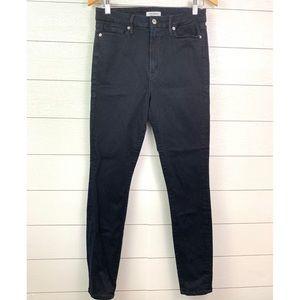 Good American Good Waist High Waisted Skinny Jeans